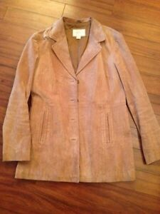 Suede Jacket----size large