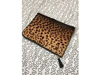 Brand new Joseph animal print clutch