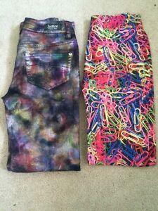 Size 10-12 brand name lightly used girls clothing bundle London Ontario image 1