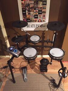 Roland TD-15K w/ Upgraded Pads & Extra  Crash Cymbal