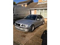 BMW E46 320D 2001 TITAN SILVER BREAKING FOR SPARRS