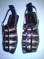 Leather Sandals Made In West Kelowna