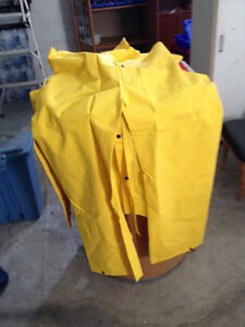 Rainwear  Suit New Large Yellow FireMan Special Cambridge Kitchener Area image 2