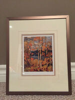 Framed Tom Thomson Limited Edition Print-Algonquin $30