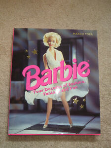 Book: Barbie: Four Decades of Fashion, Fantasy, and Fun (reduced Regina Regina Area image 1