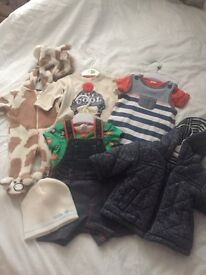 Boys clothing bundle newborn up to 9 months