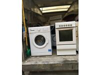 Washing machine (BRAND NEW) and electric cooker