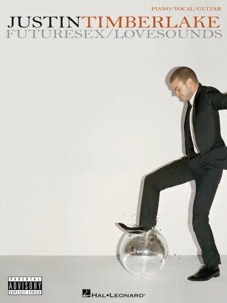Justin Timberlake FutureSex LoveSounds Sheet Music Piano Vocal Guitar  000306850