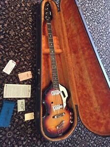 1966 vox bass Kitchener / Waterloo Kitchener Area image 1