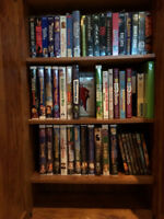 Library full of Disney Movies Just In Time For Christmas!!
