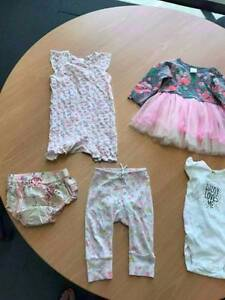 Baby Girls Clothing - Size 6-12 months Ryde Ryde Area Preview