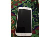 Samsung galaxy s4 unlocked in white
