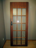 Antique Style Interior French Door 15 Glass Lite