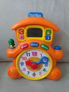 Like New - VTech Learning Time Cuckoo Clock