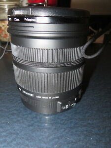 Sigma 17-70 1:2.8-4 Macro HSM DC Lens for Canon