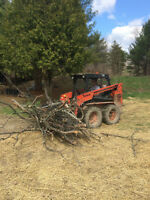 bobcat/skidsteer with operator for hire
