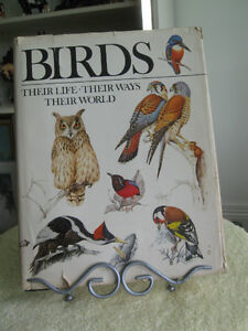"OLD '80's EDITION of  ""BIRDS-THEIR LIFE- THEIR WAYS-THEIR WORLD"