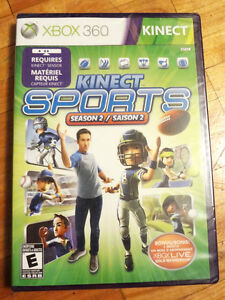 BRAND NEW/ SEALED KINECT SPORTS SEASON 2 - XBOX 360/ KINECT GAME