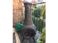 Full Cast Iron Chiminea