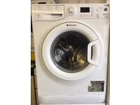 Hotpoint white good looking 8kg 1400spin A+++ washing machine cheap