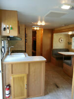 31 ft. travel trailer with 4 bed bunkhouse