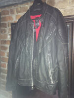 Arlen Ness Mens Leather Bike Jacket XL
