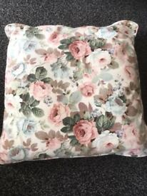 Five floral sofa cushions collection is from Beighton near Lingwood /Cantley £5