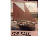 12ft wooden day sailer