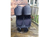 City mini GT double pram by baby jogger