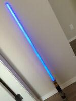Metal Luke Skywalker Lightsaber Blue RETIRED