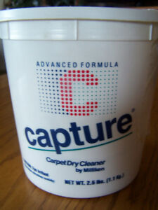 2.5 Lbs of Capture Dry Carpet Cleaner By Milliken