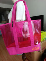 NWT Hollister by Abercrombie Womens Colorful Beach Bag  HOLLISTE