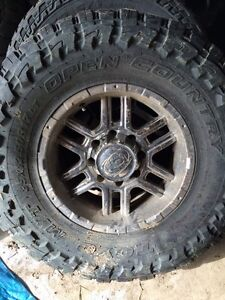 Ion alloy rims with 35 12.50