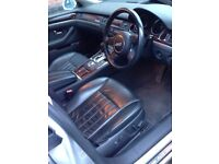 Silver Audi A8 3.7 Auto Petrol 2003 Quattro Auto Needs TLC Not Starting Needs Recovery