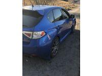 Subaru hatchback sti