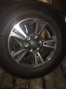 2016 Toyota Tacoma Rims and Tires