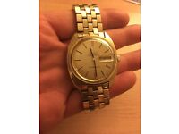 Omega constellation automatic chronometer 1960s vintage gold watch Excellent condition