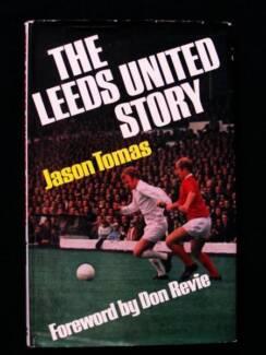 [Soccer] Leeds United Story - Jason Tomas [1st Ed Hardback]