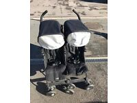 Maclaren double buggy, in good condition