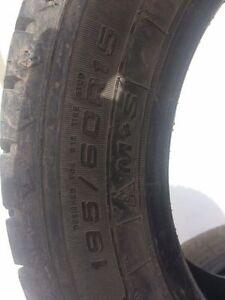 Set of 4 Winter tires 195/60R15