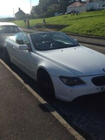 Bmw 6 series convertible, swap / part ex for motorhome.