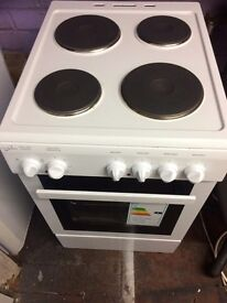 White statesman 50cm electric cooker grill & oven good condition with guarantee bargain