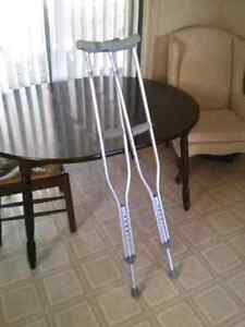 Normal Crutches In Excellent Condition
