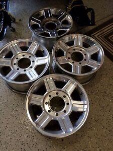 """17"""" Aluminum Dodge Rims 8x6.5"""