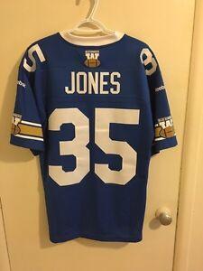 Winnipeg Blue Bombers Tyrone Jones jersey