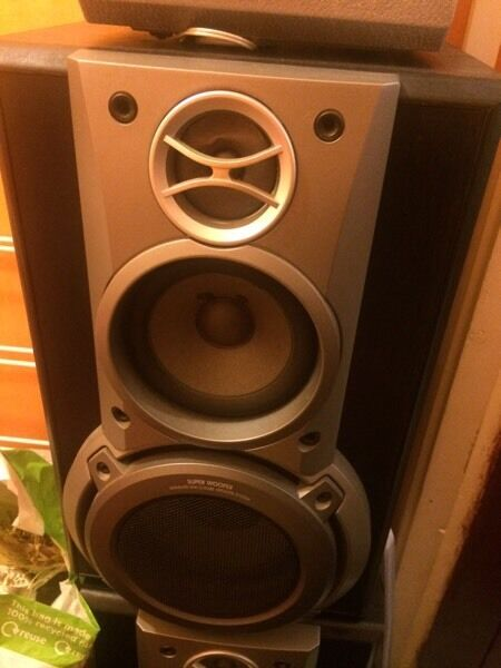Technics Speakers For Salein Nottingham City Centre, NottinghamshireGumtree - Technics Speakers for sale. Two large ,, plus three surround sound speakers ... £20