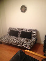 Nice room in furnished apt minutes to UNB and STU