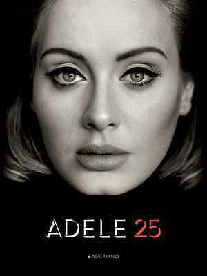 Adele 25 Easy Piano Sheet Music Song Book