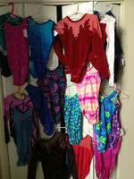 GYMNASTIC BODY SUITS  SIZE 14-16  YOUTH