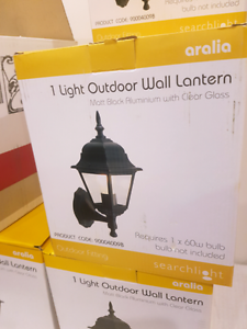 Outdoor Lantern Wall Light Brand New - have 7 available Banjup Cockburn Area Preview